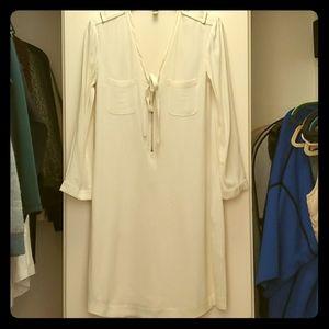 Silk burberry dress
